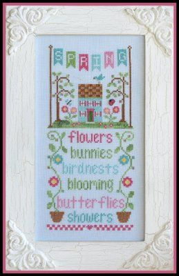 Spring Seasonal Celebrations Country Cottage Needlework Chart