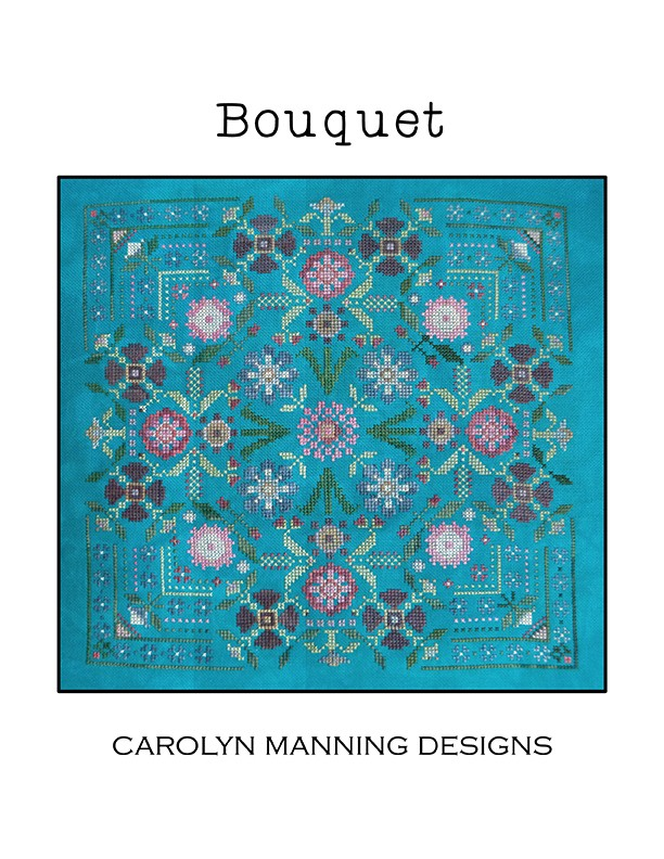 Bouquet cross stitch chart