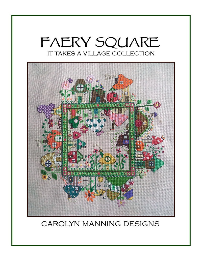 Faery Square cross stitch chart