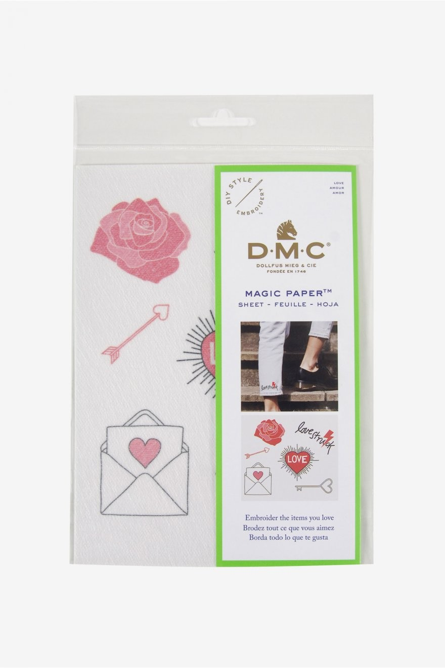 DMC Magic Paper - Love