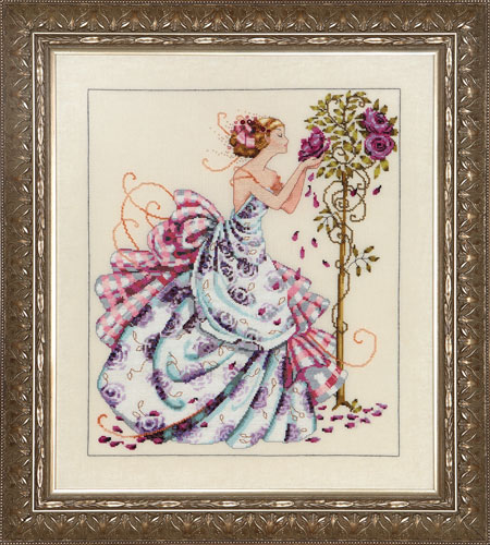 Roses of Provence cross stitch chart