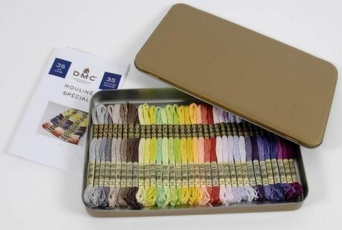 DMC Collector Tin - 35 New Colours (2017)