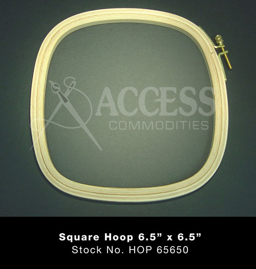 Hardwicke Manor Hoop -10 Square Slim (5/16)