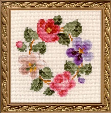 Blossoms Victorian Fancywork Kit