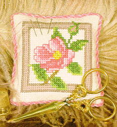 Wild Rose Pincushion Sampler Kit