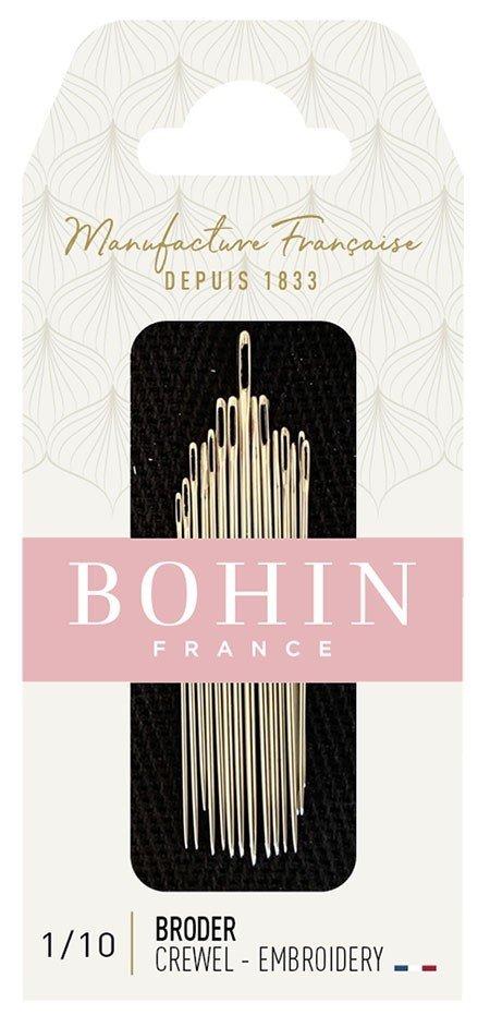 Bohin Crewel Needles - Size 1 to 10