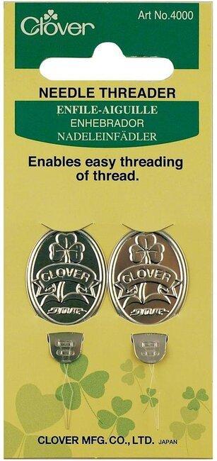 Clover Needle Threader 2/pkg