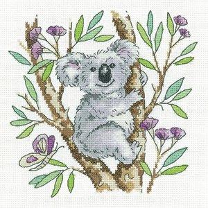 Koala - Karen Carter cross stitch chart - copy