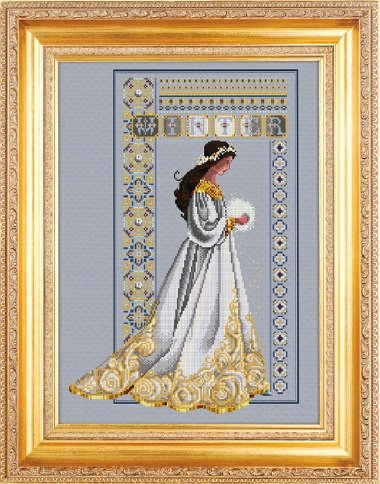 Celtic Winter counted cross stitch chart