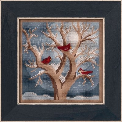 Frosty Morning counted cross stitch kit