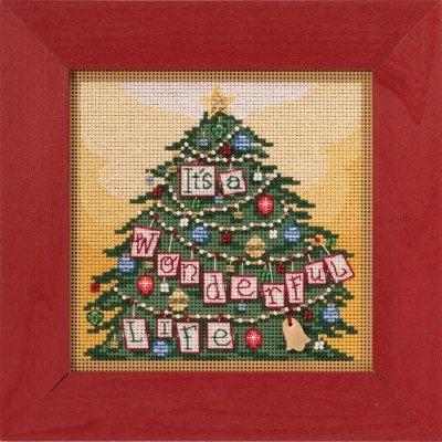It's a Wonderful Life counted cross stitch kit