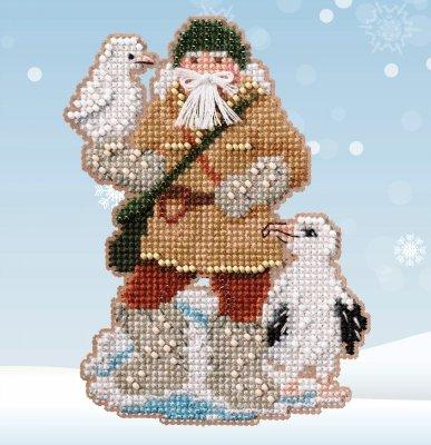 Albatross Santa counted cross stitch kit