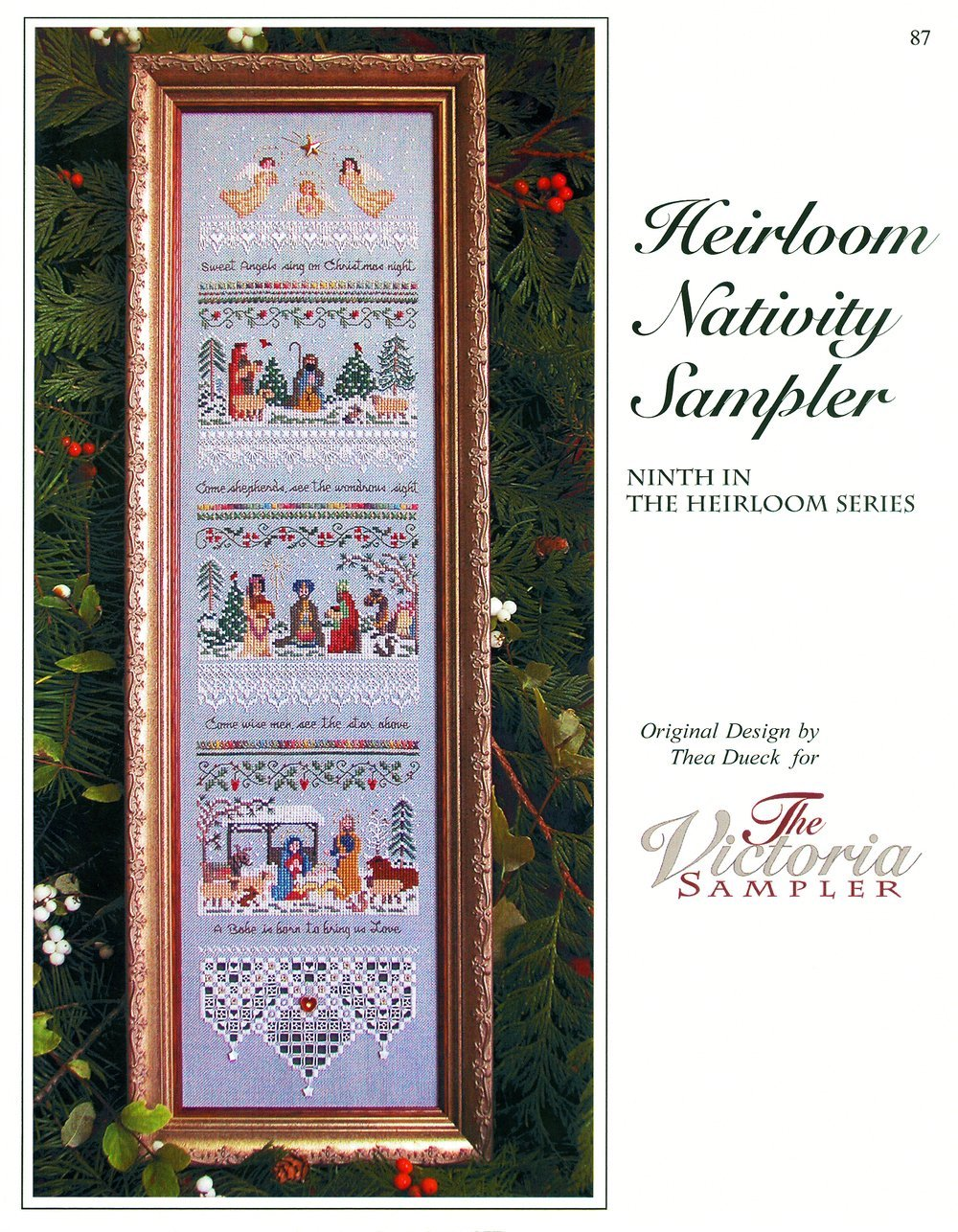 HEIRLOON NATIVITY SAMPLER