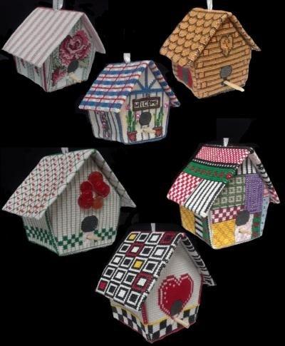 18-2705-3D Birdhouses