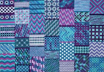 BANDED BY BARGELLO