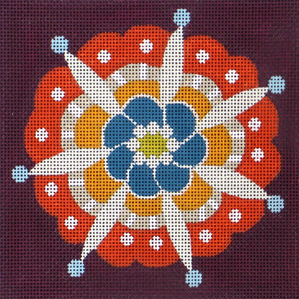 25023 Fall Pinwheel Single
