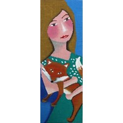 Lady and Fox - Patti Mann 50016 - 18 mesh, 5 x 14