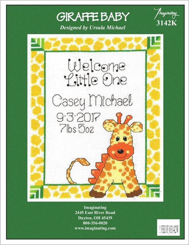 Imaginating Giraffe Baby Kit