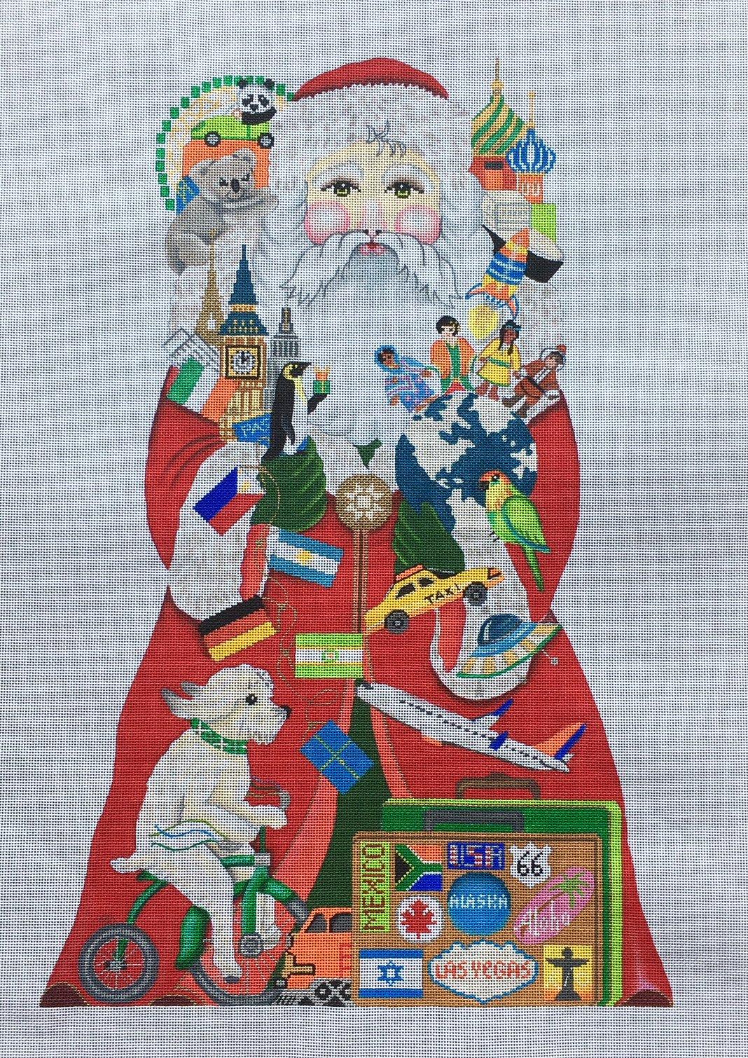 7070 World Traveler Santa