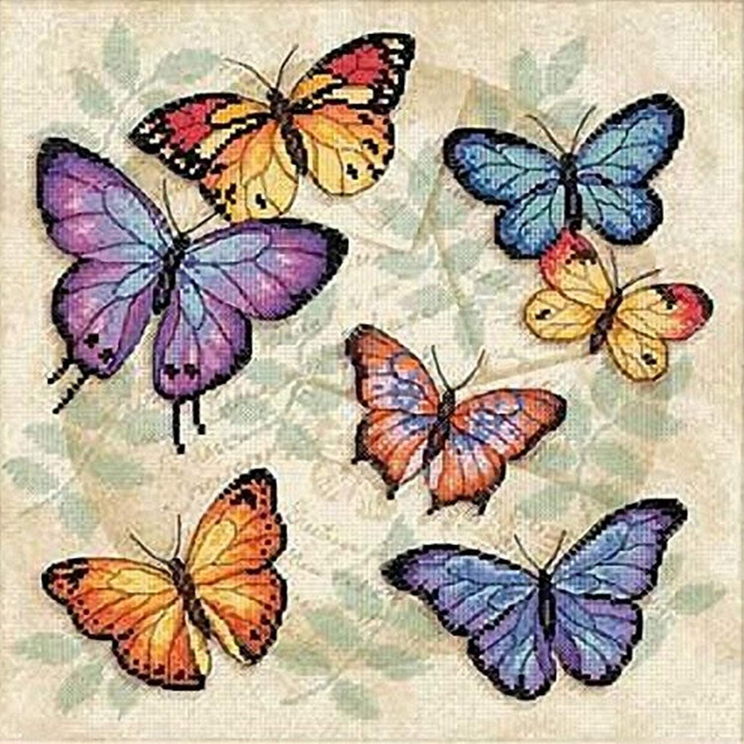 Butterfly Profusion Dimensions cross stitch 35145
