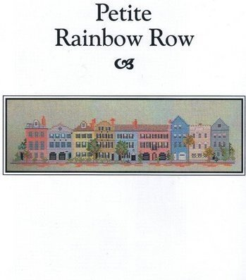 CW Petite Rainbow Row - Cross Stitch Pattern