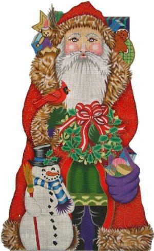 9-16 Snowman Santa