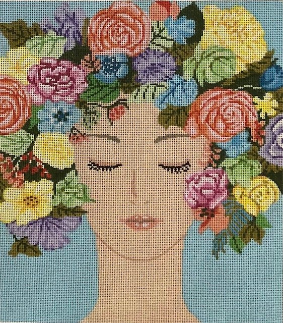 Floral Face - A Stitch in Time ASIT078