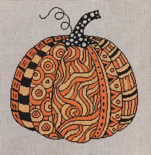 Swirl Pumpkin - A Stitch in Time ASIT084
