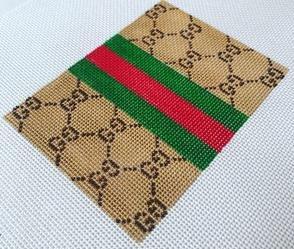 Bitsy Flat  BF-02A G's & Stripes Tan/Brown