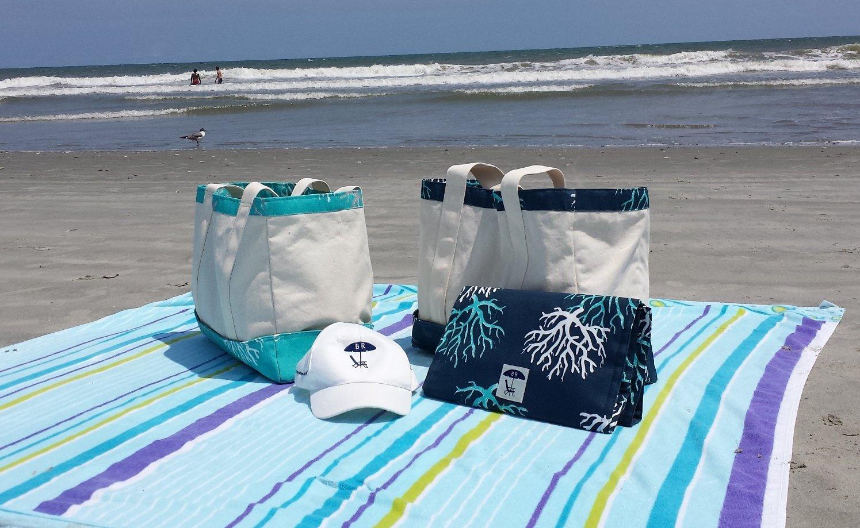 Bohicket Road Beach Bag