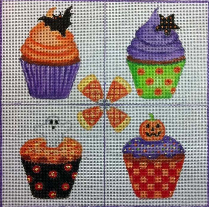 Halloween Cupcakes HW138