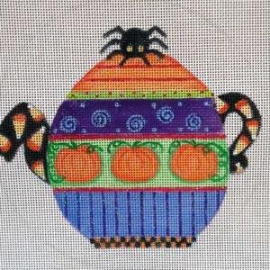 Halloween Teapot HW182