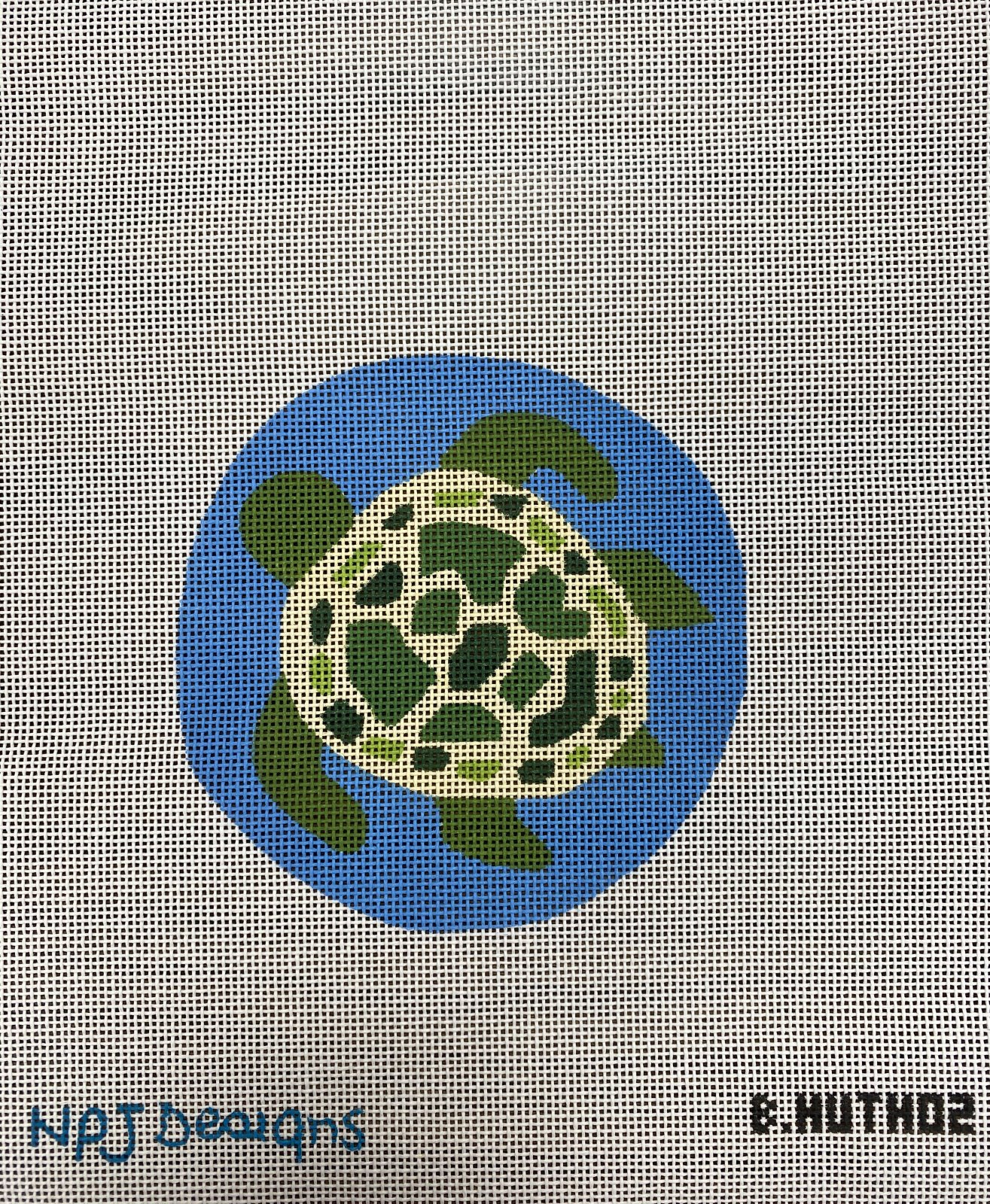 SEATURTLE ORNAMENT B.HUTH 02 -