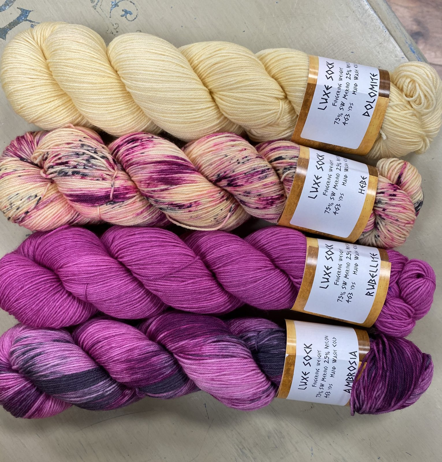 Jem Luxe Fibers Hebe Collection