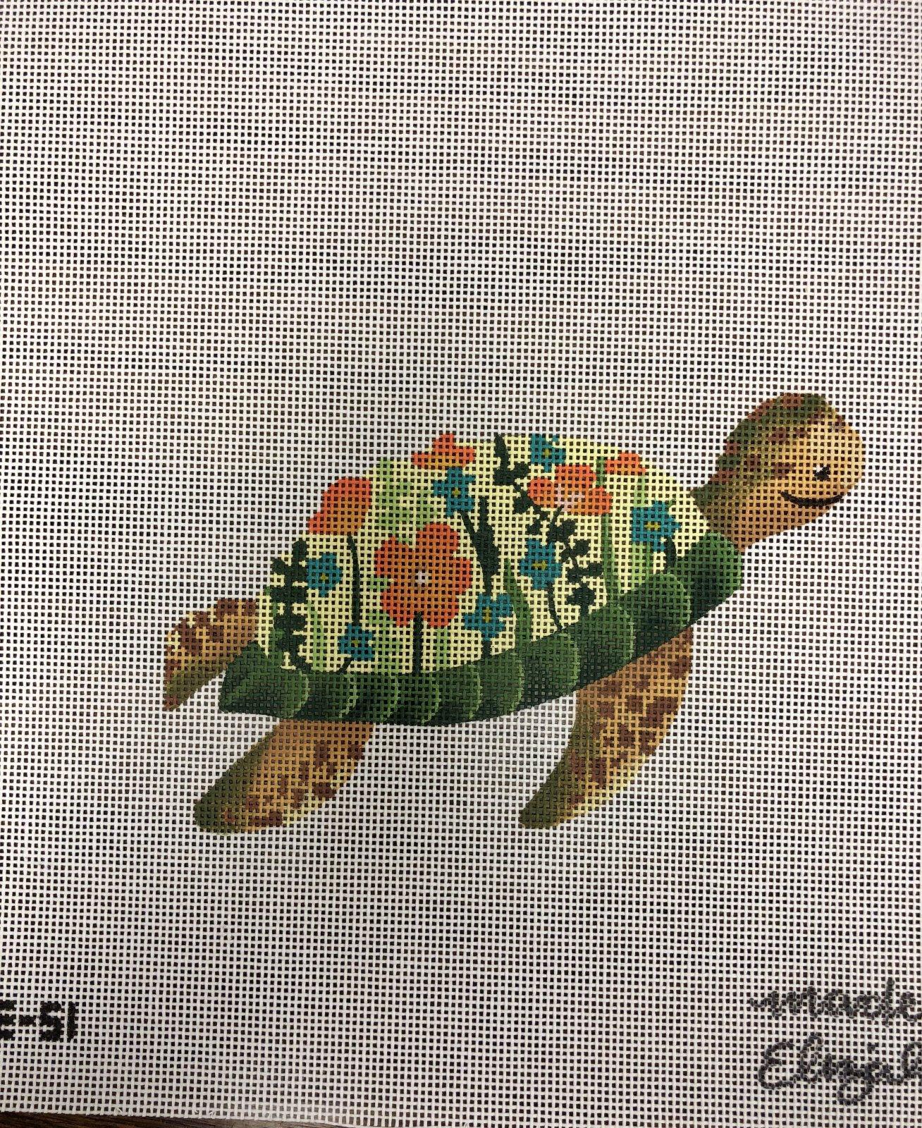 Floral Turtle