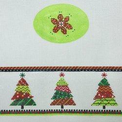 FS 0-4 Christmas 3 trees Hinged Box