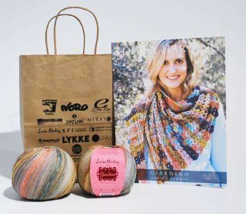 Perris Crochet Shawl in Giardino