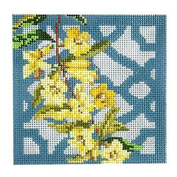 Flower Coaster K&B KB 1294 Carolina Jasmine