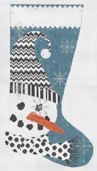 MS039 LET IT SNOW STOCKING