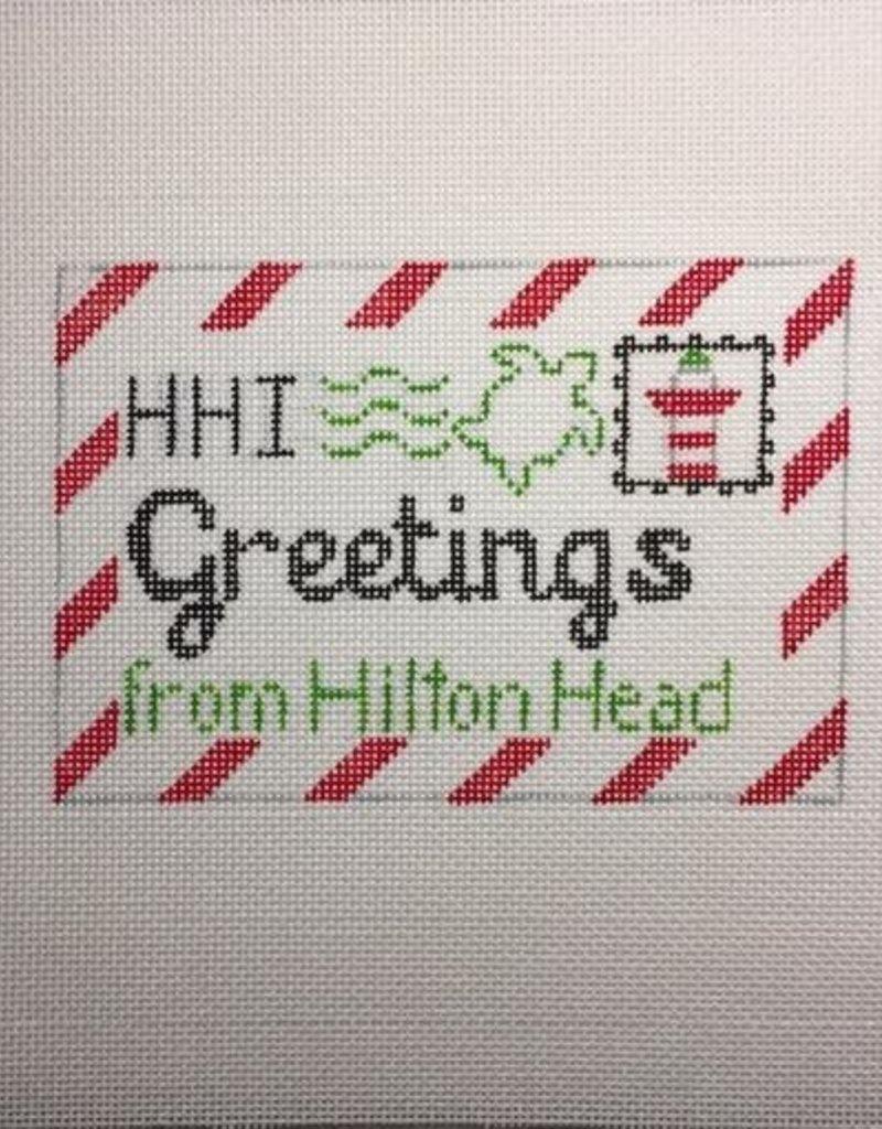 SD177 HILTON HEAD GREETINGS