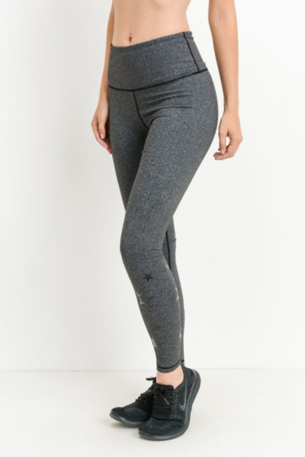 High Waist Star Leggings