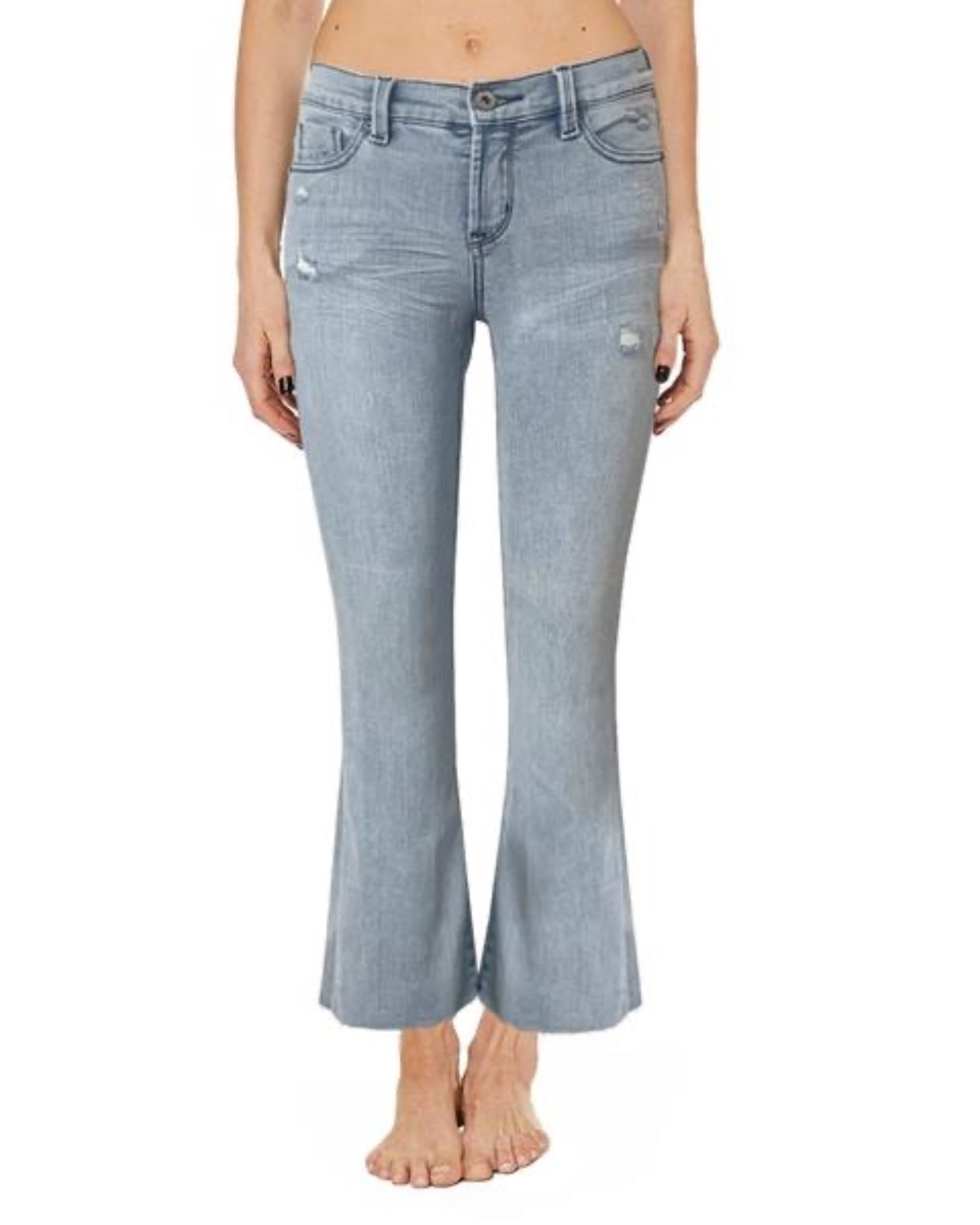 Cropped Baby Bell Jean