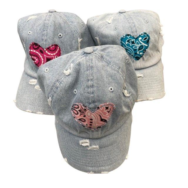 Summer Fun Vintage Baseball Hats
