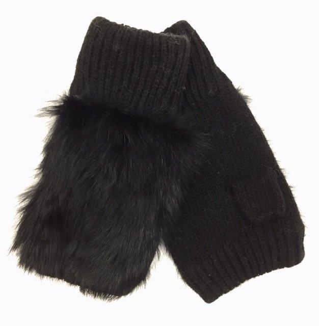 Fingerless Sheared Fur Glove