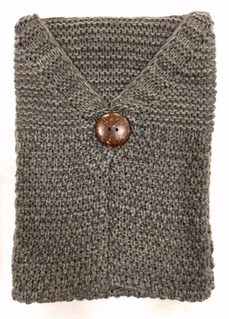 Button Pocket Scarf