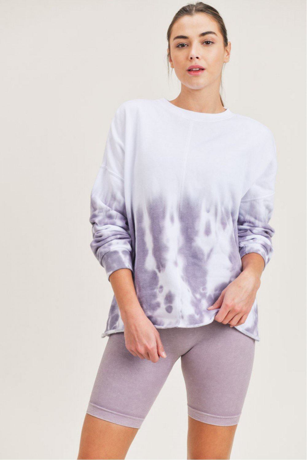 Rise and Dye Pullover