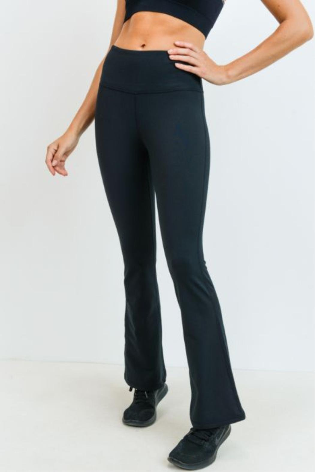 Essential High Waist Flare