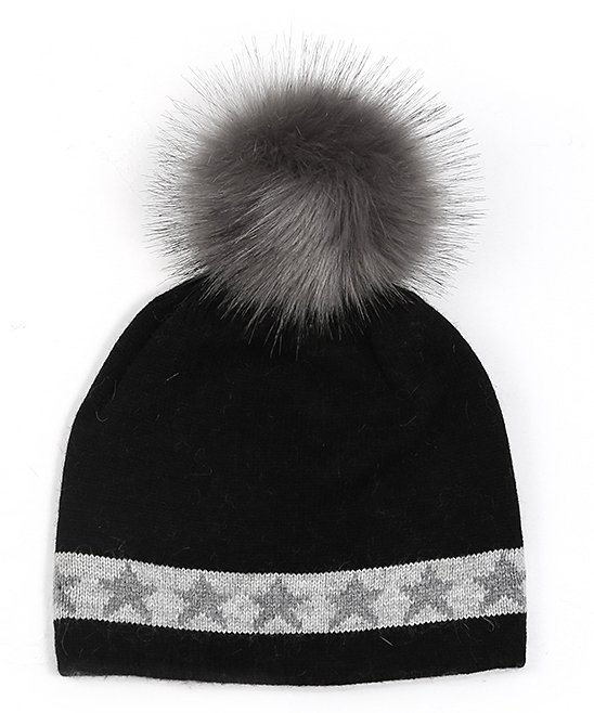 Star Band Hat w/ Pom