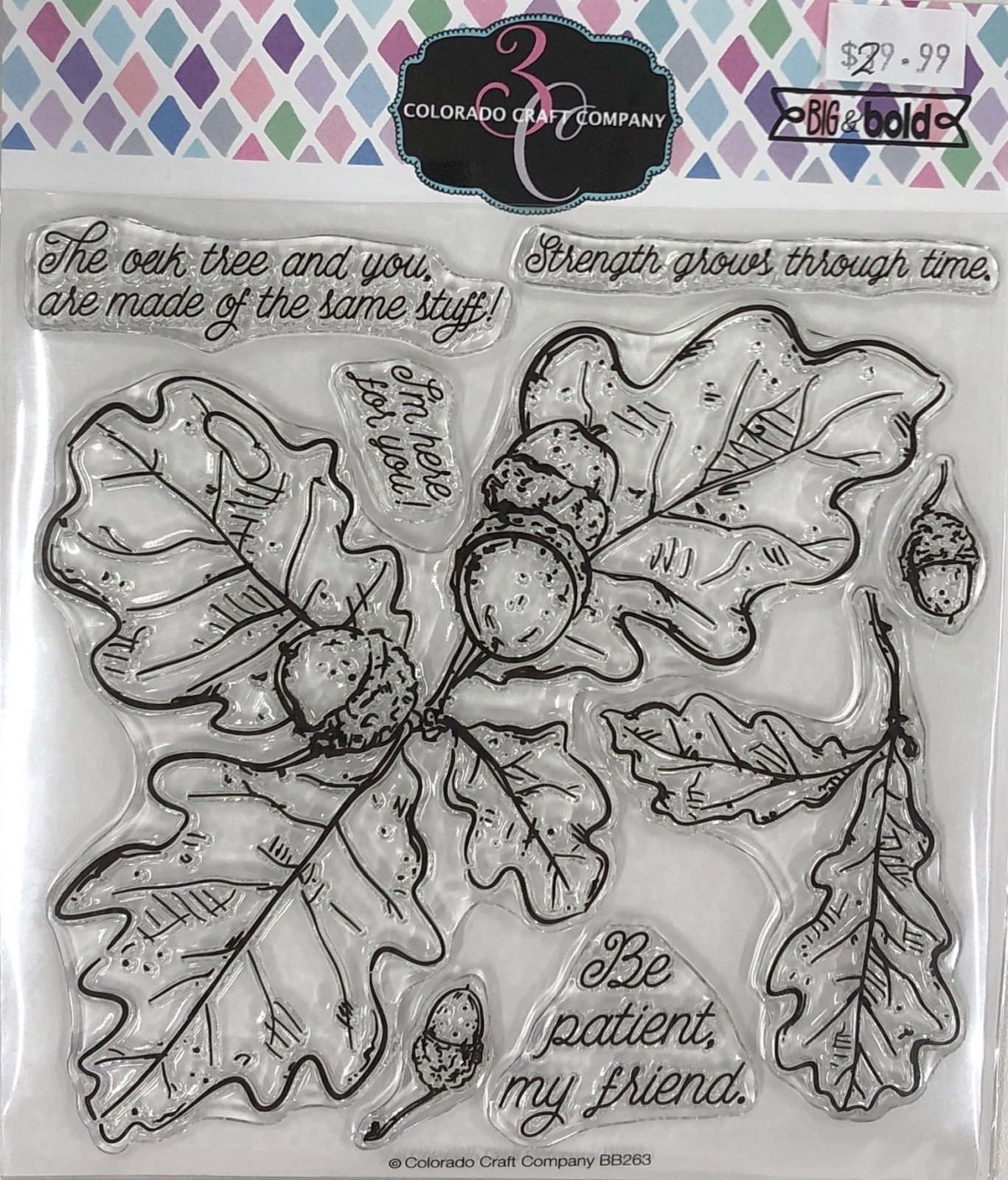Colorado Craft Company Big & Bold Oak Leaves & Acorns