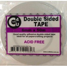 6mm x 50m Double Sided Tape